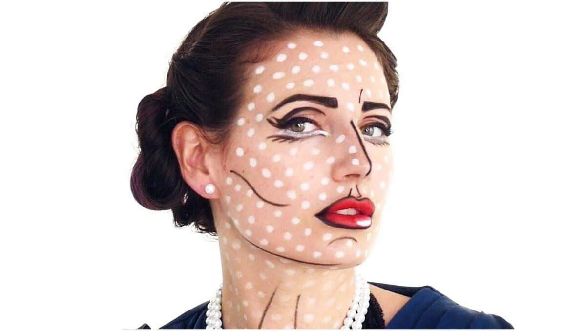 maquillage pop art